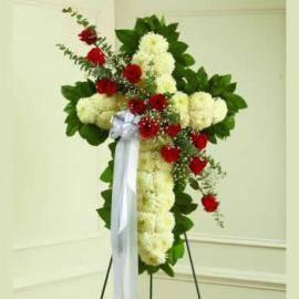 Graceful Tribute Cross