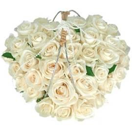 Wedding White Heart