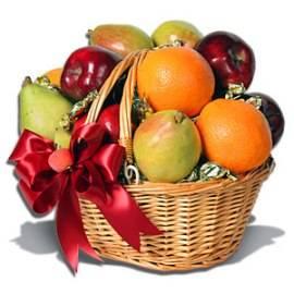 Holiday Fruits Basket