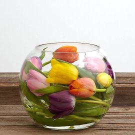 Bowl of Tulips