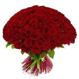 125 Luxury Red Roses