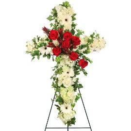 Memorial Cross Arrangement