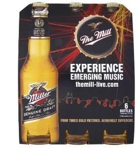 Miller Beer, 6 x 330ml bottles