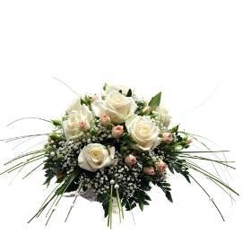 Modern Rose Jeweled Bouquet