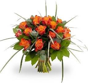 Orange Roses Bouqet