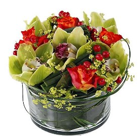 Fantastic Orchid Arrangement