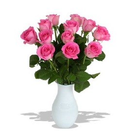 Букет нежнейших розовых роз
