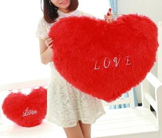 Heart -Shaped Pillow