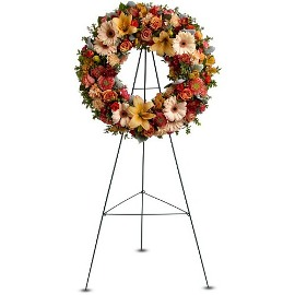 Peace Eternal Sympathy Wreath