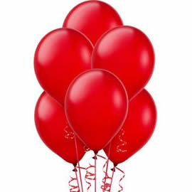 7 Red Balloons