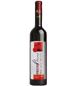 Raspberry Red Semi sweet Wine