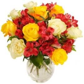 Roses Inside of Bloom