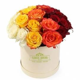 Цветочная коробка «Феерверк цветов»