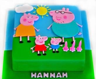 Peppa Pig family Cake