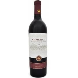 Red semi sweet wine Armenia