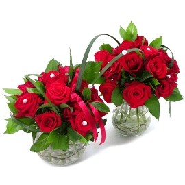 2 Corsages of Roses