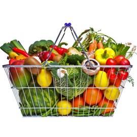 Colorful Vegetable Basket