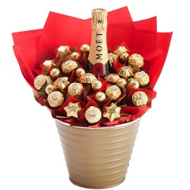Chocolate bucket & Champagne