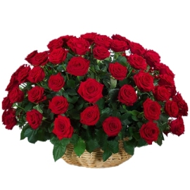 Royal Roses Basket