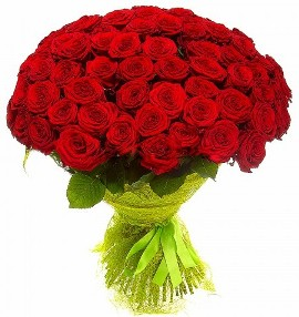 101 Deluxe Red Roses