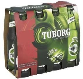 Пиво Tuborg, 6 x 330мл