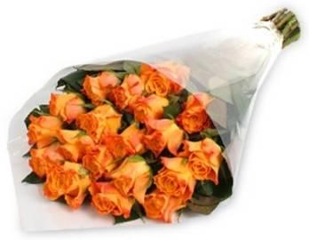 Изысканный Букет из Оранжевых Роз