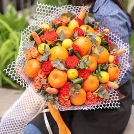 Unique colorful bouquet