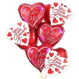 Emotional Heart Balloons!