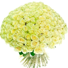 Deluxe White Roses